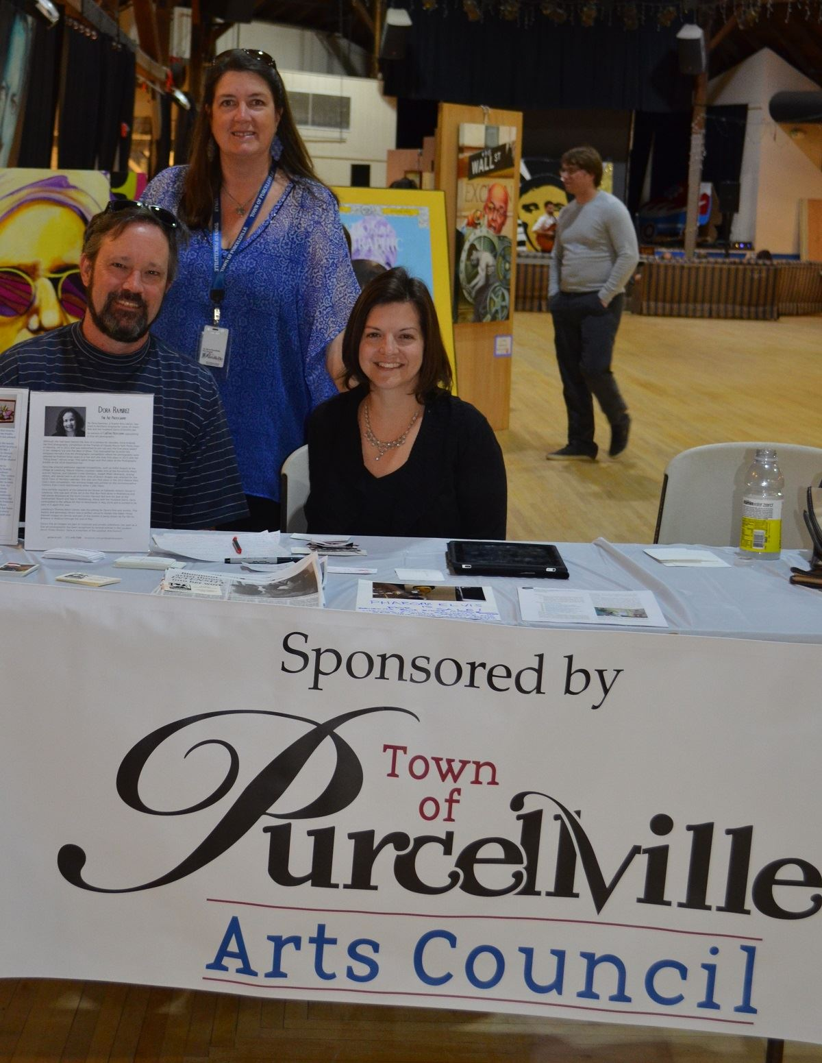 Art, Purcellville Arts Council Table