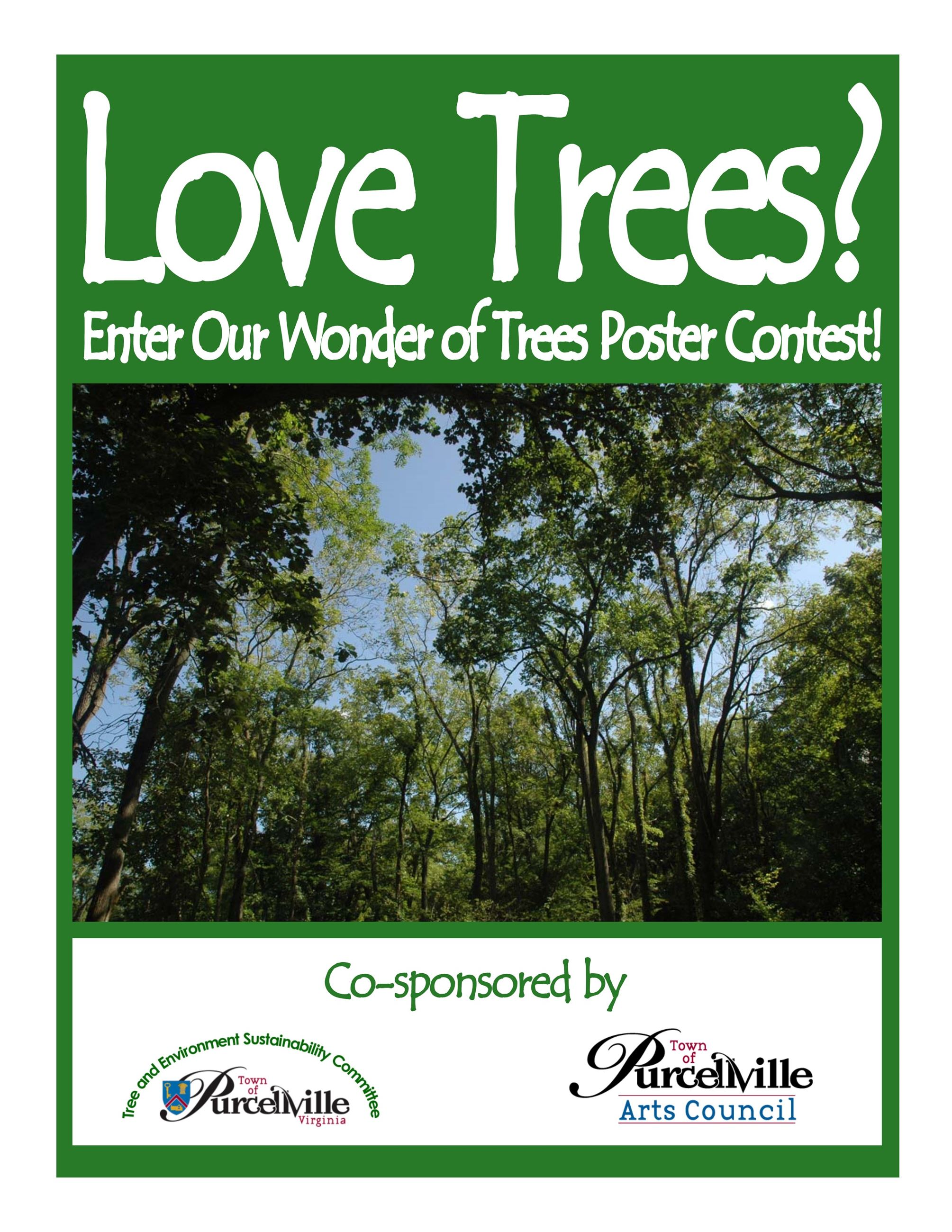 Tree Poster Contest Flyer